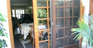 sliding glass door replacement options french screen