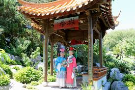 Small Picture Chinese Garden of Friendship Blonde Voyage