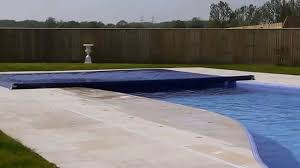 Automatic pool covers for odd shaped pools Cheap Youtube Aquamatic Cover Kidney Pool With Air Systemmov Youtube