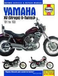 1981 2003 yamaha virago xv 535 750 1100 haynes repair manual 802 yamaha virago 535 parts catalogue at Yamaha Virago 535 Wiring Diagram