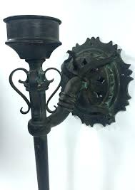 full size of sconces gothic candle sconce antique meval torch wall sconce cast iron wrought
