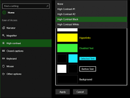 Windows 10 Color Scheme Windows 10 Anniversary Update Color Personalization Settings