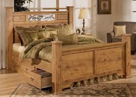 vanity rustic king size bed on wood bedroom sets special
