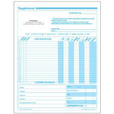 auto repair forms auto repair supplement request forms