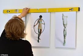 London Paralympics 2012: One-legged artist hopes Games will change  perceptions about the human body | Daily Mail Online