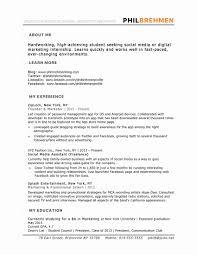Ba Graduate Resume Sample Resume Work Template