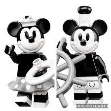 樂高 Lego 71024 Disney Minifigs Series 2 黑白版 米奇 米妮