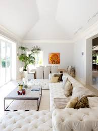 white tufted sofa. White Tufted Sofa Living Room Eclectic With None