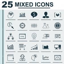 desktop diagram icons wiring diagram list set of 25 universal icons on square diagram personal skills desktop diagram icons