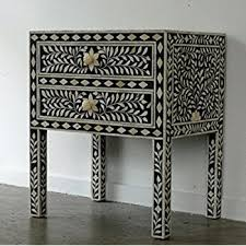 Amazon Butler Bone Inlay Chest Drawer Made Designers Inlay