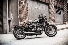 the meaner more muscular triumph bobber black motofire