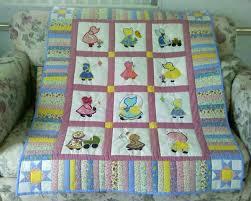 Cute border | Quilts - Sun Bonnet Sue | Pinterest | Sunbonnet sue ... & Resultado de imagem para tips for making sunbonnet sue quilt Adamdwight.com