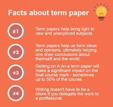 the ultimate guide for writing an excellent term paper term paper facts