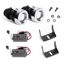 ccfl projector lights fog lamps 2 12v 55w halo angel eyes h3 bulb 2 lamps