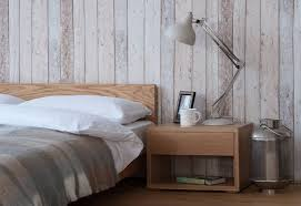 Oak Nevada Bed And Cube Table   Natural Bed Company