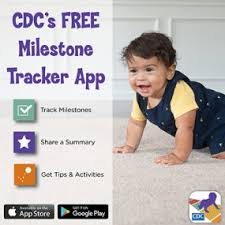Child Development Milestones Chart 0 6 Years Cdcs Developmental Milestones Cdc