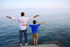 Image result for picture of father with son