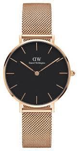 <b>Наручные часы</b> Daniel Wellington Classic Petite Melrose Black ...