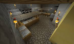 Kitchen For Minecraft Restaurant Rothenburg Minecraft Project