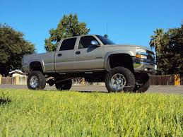 2002 Chevy Silverado 2500HD on 38's!