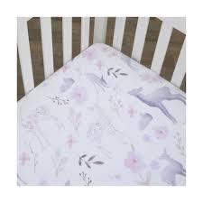 nojo nursery crib bedding set