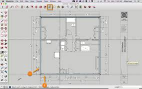 sketchup tutorial draw plan from pdf 14