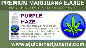 marijuana flavored e cig juice