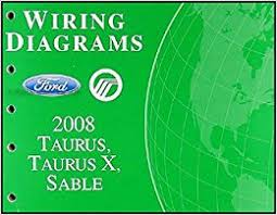 2008 ford taurus taurus x sable wiring diagrams manual original 2008 ford taurus taurus x sable wiring diagrams manual original