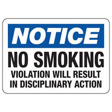 No Smoking Signage No Smoking Signs Notice No Smoking Violation Seton School Safety