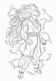 Small Picture Image Ss3 goku dbz coloring pagesgif Dragon Ball Wiki