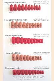 Acrylic Nail Length Chart Best Of 36 Short Acrylic Natural