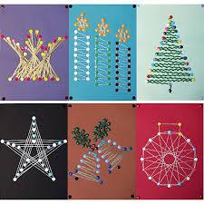 Christmas String Art Patterns