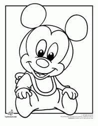 Adorable, abc coloring sheets to help kids have fun practicing tracing upper and lowercase letters with disney characters from a to z. Disney Babies Coloring Pages Woo Jr Kids Activities