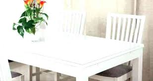 thick plastic table cover transpa covers round clear protector with elastic