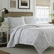 gray bedspread king. Delighful Gray Tommy Bahama Island Memory Gray Quilt Set King Pelican In Bedspread King Amazoncom