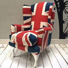 union jack furniture. Union Jack Chair|Union Armchair|wingback| Wingback Chair|  Armchair| Union Jack Furniture