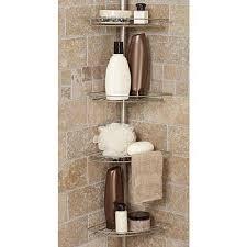 bathtub corner caddy bath shower caddy corner tension rod bathtub soap shampoo organizer