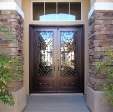 wrought iron front doorsGrand Entryways  Artistic Iron Works  Ornamental Wrought Iron