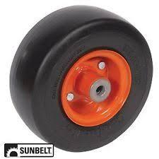 kubota mower deck kubota front mower deck wheel smooth 6x3 5x4 solid orange
