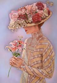 victorian lady painting lady jessica by sue halstenberg