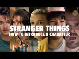 stranger things how to introduce a character video essay  stranger things how to introduce a character video essay
