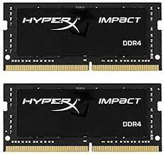 <b>Kingston</b> Technology HyperX Impact <b>32GB</b> 2666MHz <b>DDR4</b> CL15 ...