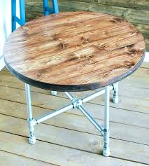 coffee table pipe legs reclaimed wood round coffee table pipe legs medium size of with drawers coffee table pipe legs
