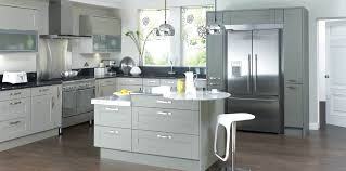 grey shaker kitchen image of gray shaker kitchen cabinets light grey shaker kitchen images
