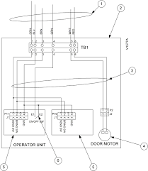 tp 821409 001c vat 21gx installation guide figure 8 9 wiring diagram dual sided operator unit