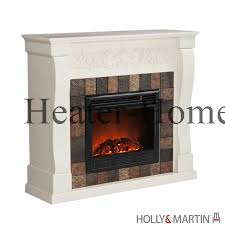 holly martin 37 054 023 6 18 white rustic electric fireplace