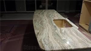 fantasy brown marble kitchen countertop