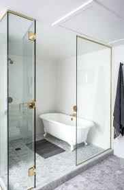 convert clawfoot tub to shower luxury bathroom design with grey textured floor and classic white tub convert clawfoot tub to shower
