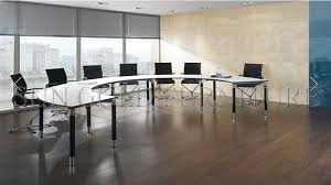 modern quarter round curved wooden movable office conference table sz mt118 1