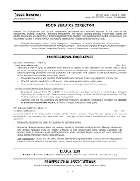 Brilliant Ideas Of Cover Letter For Food Service Director Job For